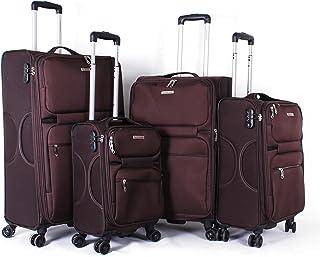 Giordano, Luggage Trolley Bags, Brown, FS601