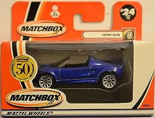 Matchbox Lotus Elise Blue 24/75 1:64 Scale Die Cast Collectible Car Model