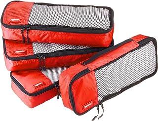 Bolsas de equipaje alargadas (4 unidades), Rojo