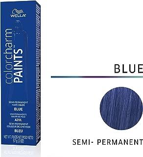 Wella Paints Blue Semi Permanent Hair Color Blue, 2 oz