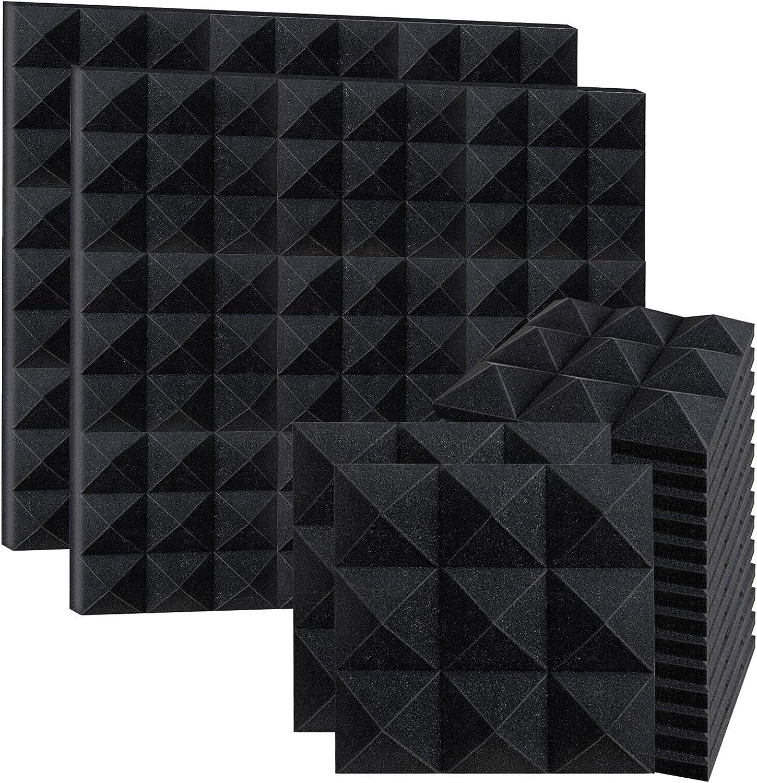 Max 44% OFF 12 Pack Acoustic Foam Panels Award-winning store 2