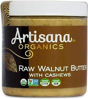 Artisana Organics Raw Walnut Butter with Cashews, 9oz | No Sugar Added, Just Two Ingredients | Vegan, Paleo...