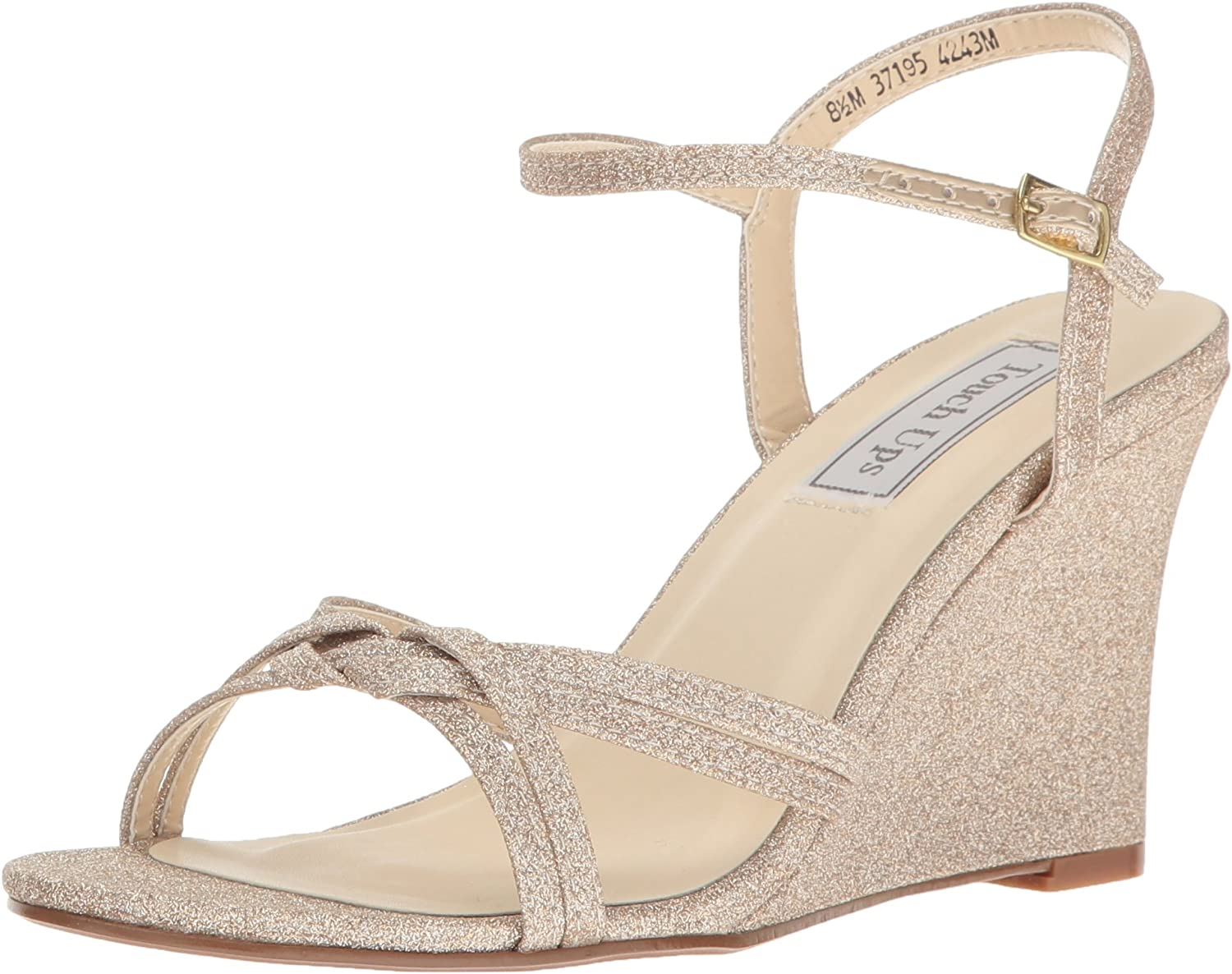 Touch Ups Womens Buffy Wedge Sandal
