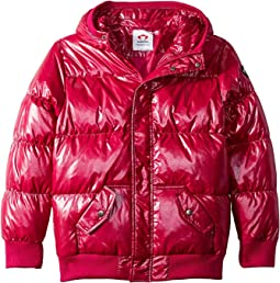 Puffy Coat with Hood and Front Pockets (Toddler/Little Kids/Big Kids)