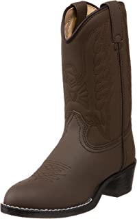 Durango Lil' Brown Emboss Western Boot (Toddler/Little Kid/Big Kid)