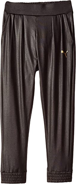 Pleated Cinched Bottom Pants (Little Kids)