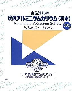 硫酸アルミニウムカリウム (粉末) 500g