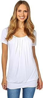 KRISP Camiseta Larga Manga Corta Talla Grande Básica