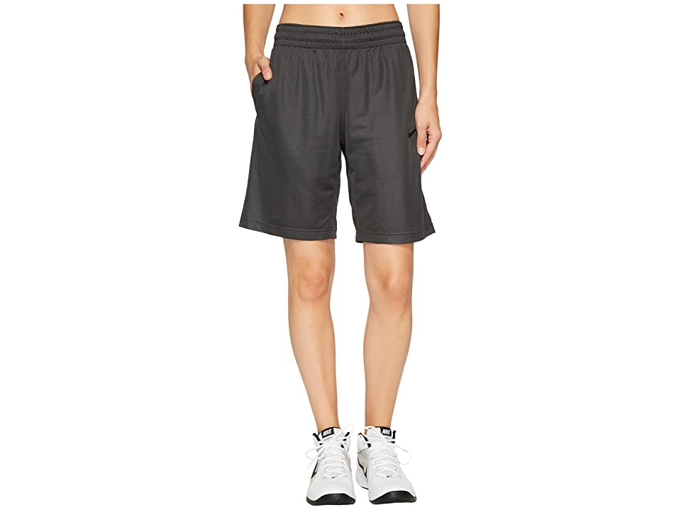 Nike Dry Essential 10 Basketball Short (Anthracite/Anthracite/Black/Black) Women