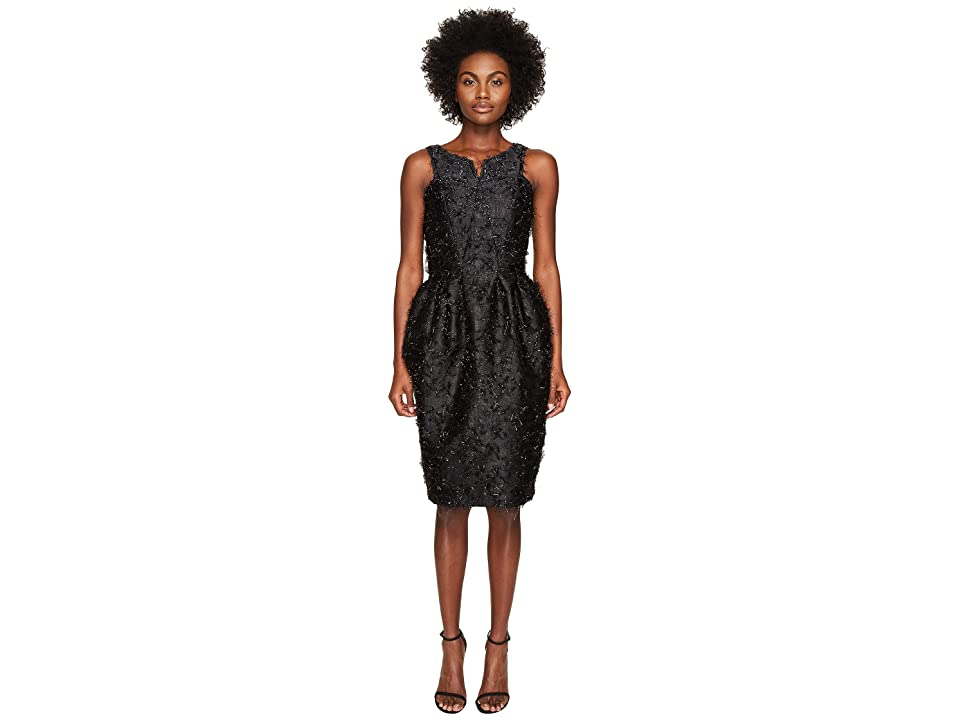 Zac Posen Angel Hair Lurex Sleeveless Dress (Eclipse) Women