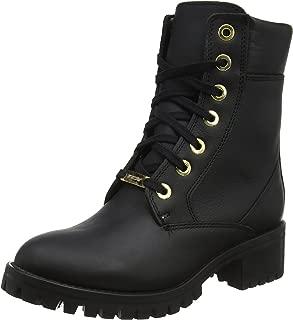 TCX Lady Smoke Waterproof Women's Street Motorcycle Boots - Black / 37