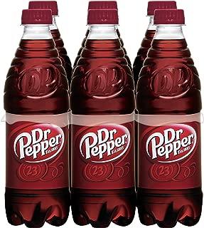 Dr Pepper Soda, .5 Liter Bottle, 6 Count