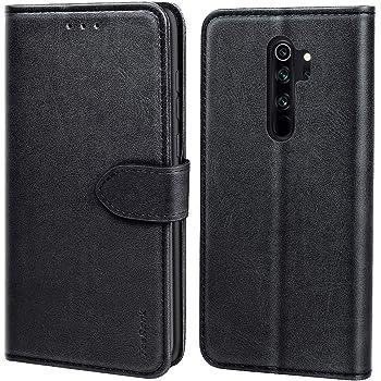 TOYOX020548 Blau Brieftasche Handyh/ülle Klapph/ülle mit Kartenhalter Stossfest Lederh/ülle f/ür Xiaomi Redmi Note 5 Pro H/ülle Klappbar Leder Tosim Xiaomi Redmi Note 5 Pro