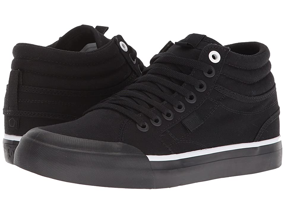 DC Evan Hi TX (Black/Black/White) Women