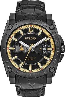 Bulova - Reloj analógico para Hombre de Cuarzo con Correa en Cuero 98B293