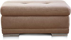 Cavadore Relaxdays–Jarrón Plata para Pinceles de Rosas, Alta Jarrón, abombado, diseño Moderno, gomaespuma, marrón, 100 x 67 x 43 cm