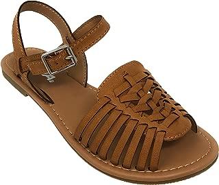 Festival Mexican Huarache Ankle Strap Vegan Leather Boho Sandal