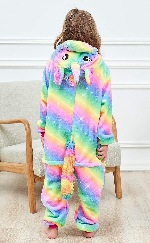 Unicorn Pajamas Onesie Animal Costume for Girls
