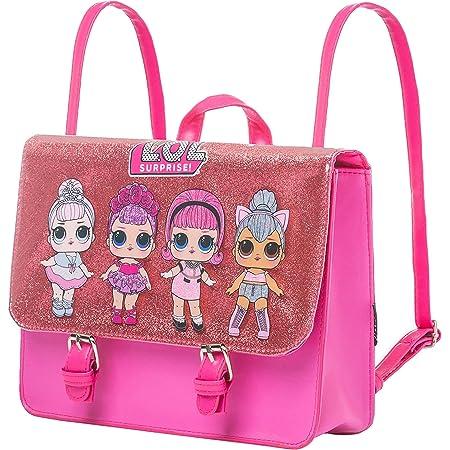 Cerdá L O L Surprise! Bolso, Bandolera para Niñas, Mochila Infantil, Diseño de Purpurina Brillante, Bolso 2 en 1, Regalo para Niñas
