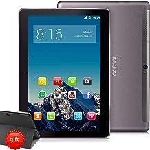 TOSCIDO 4G LTE Tablet 10 Pulgadas1920*1200 IPS HD - Android 10.0 Certificado por Google GMS,4GB RAM,128GB ROM,Octa Core 2GHz CPU de Alta Velocidad,Doule Sim,WiFi,Doble Altavoz Estéreo - Negro