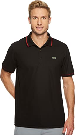 Lacoste - Piped Technical Piqué Tennis Polo