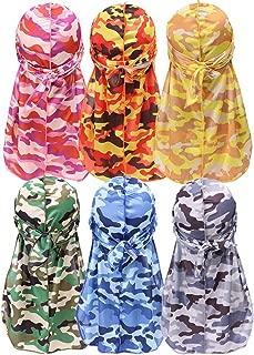 Durags for Men Women,Silky Velvet Du-rag for 360 Waves Multipack