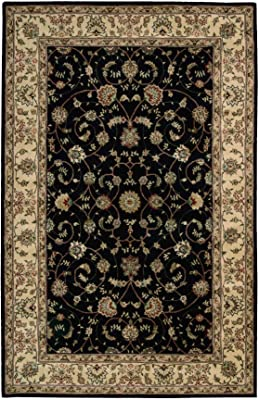 """Nourison Nourison 2000 (2015) Navy Rectangle Area Rug, 5-Feet 6-Inches by 8-Feet 6-Inches (5'6"""" x 8'6"""")"""