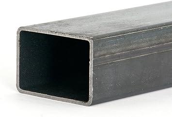E235-50x20x2mm 1000mm Rechteckrohr Stahlrohr Vierkantrohr EN 10305-5 L= 500-2000mm