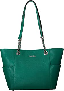 Womens Key Item Saffiano Leather Tote