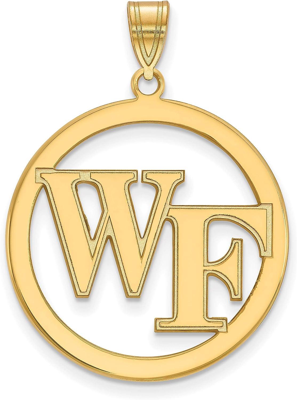 Wake Ranking TOP1 Forest Demon Deacons School Letters Pendant Logo Gol Las Vegas Mall Circle