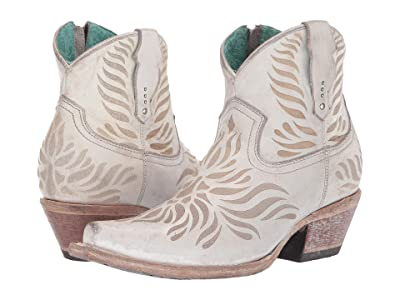 Corral Boots G1480 (White) Women