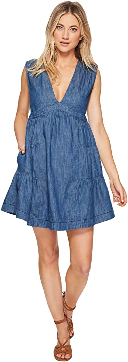 Free People - Esme Denim Mini Dress
