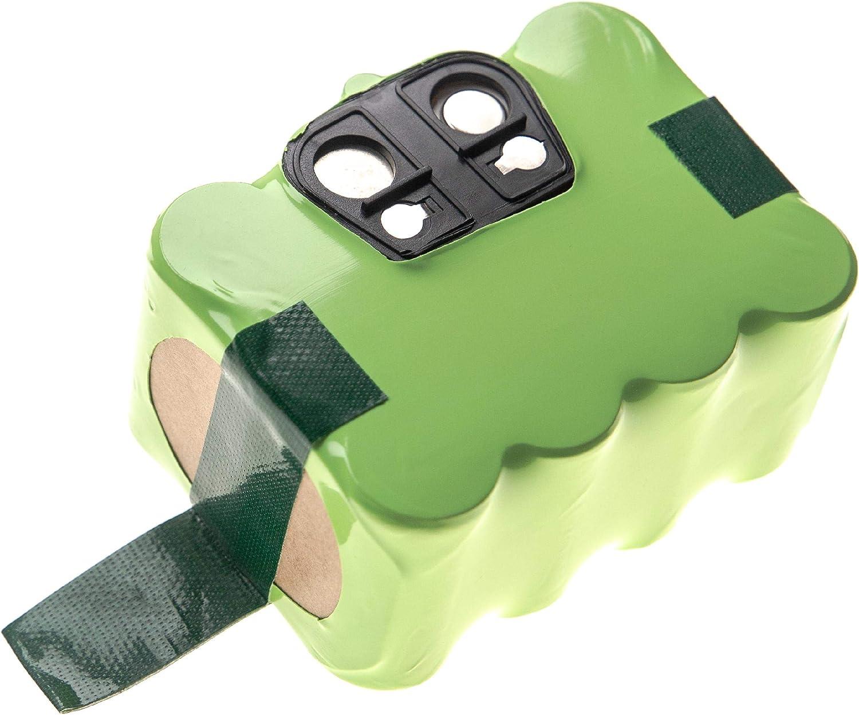 vhbw Batería NiMH 2200mAh (14.4V) compatible con Home Cleaner Hoover RBC003, RBC003 011 reemplaza YX-Ni-MH-022144, NS3000D03X3 para robot aspirador: Amazon.es: Hogar
