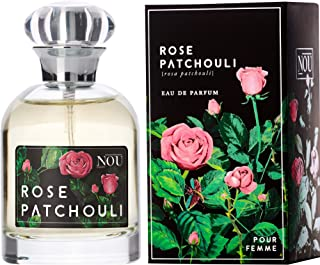 Rose and Patchouli Perfume – Floral Perfume with Sweet,...