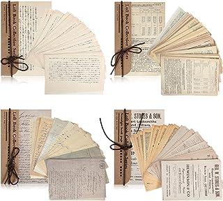 240 Feuilles Fournitures de Scrapbooking Vintage Fournitures Bullet Journal Scrapbooking Matériel Papier Rétro Décoratif F...