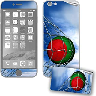 ExpressItBest Skin/Decal for iPhone 6/6S with Flag of Bangladesh - Soccer Ball in Net - Durable and Long Lasting