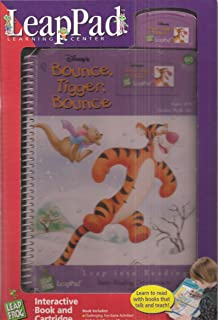 Bounce, Tigger, Bounce Leap Pad Interactive Book and Cartridge (Grades PreK-1st)) (Leap Into Reading)