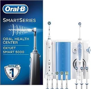 comprar comparacion Oral-B Smart 5000 Estación de Cuidado Bucal: Mango de Cepillo Eléctrico + Oxyjet Irrigador con Tecnología Braun, 4 Cabezal...