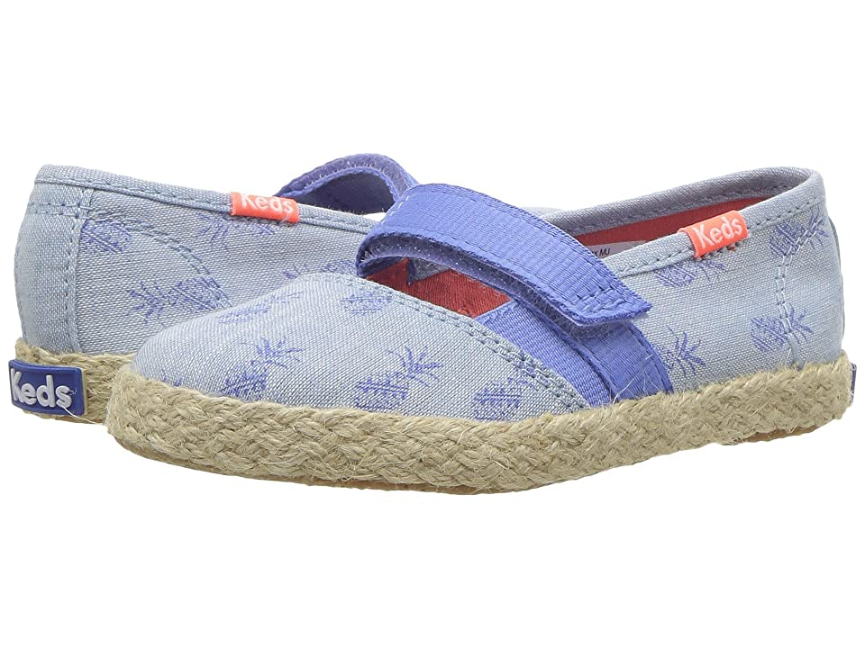 Keds Kids Chillax Mary Jane (Toddler/Little Kid) (Pineapple) Girl