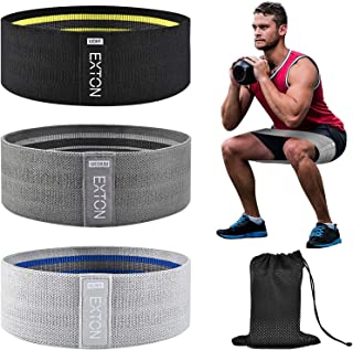 Resistance Bands for Women Butt and Legs, Exercise Bands Set, Fitness Bands, Fabric Workout Bands, Booty Bands for Working...