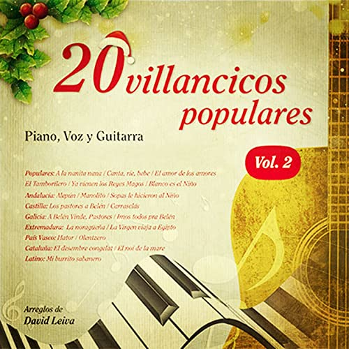20 Villancicos Populares, Volume 2 de David Leiva en Amazon Music ...