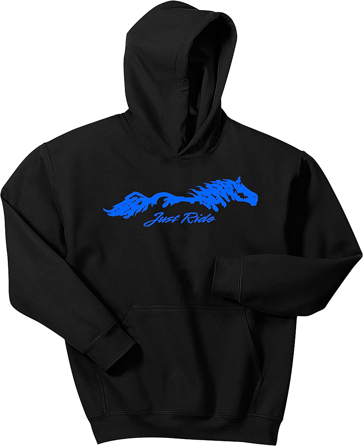 Just Ride Horse Hoodie Sweatshirt