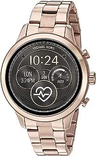 Michael Kors Women's Quartz Smartwatch smart Display and Stainless Steel Strap, MKT5046