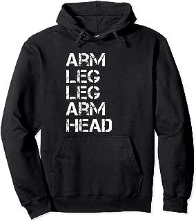 Arm Leg Leg Arm Head Allah NGE 5 percent t shirt Pullover Hoodie
