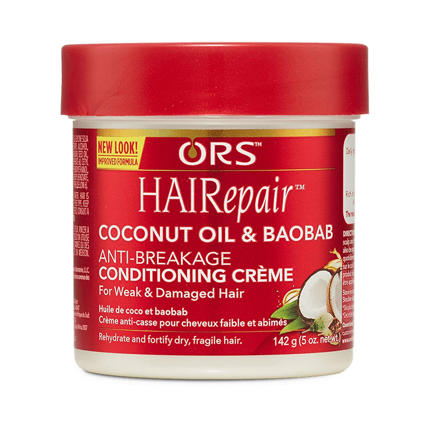 Ranking integrated 1st place ORS HAIRepair Coconut Oil and Anti-Breakage supreme Baobab Conditioning