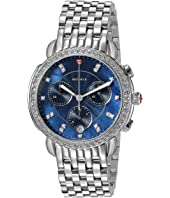 Michele - Sidney Diamond Navy Dial Watch