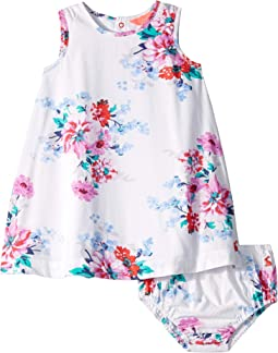 White Small Floral
