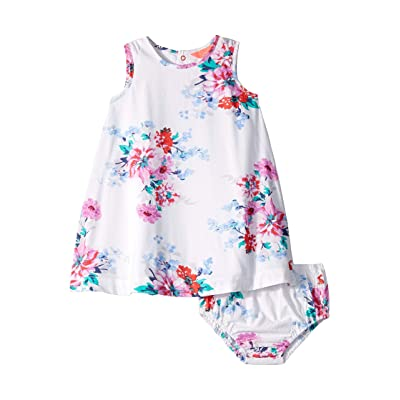 Joules Kids Bunty Dress (Infant) (White Small Floral) Girl