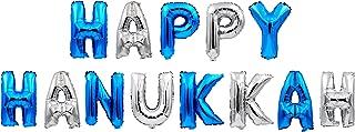 Hanukkah Decoration - Happy Hanukkah Balloons - Happy Hanukkah Banner