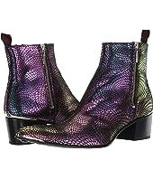Sylvian Double Metal Zip Boot